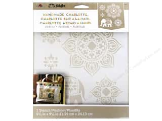 craft & hobbies: Plaid FolkArt Handmade Charlotte Stencils - Tangier