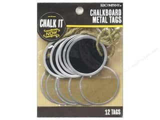 twine: K&Company Chalk It Now Chalkboard Tags Metal