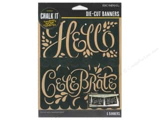 K&Company Chalk It Now Banner Hello Celebrate