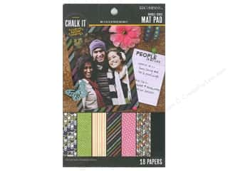 K&Company Chalk It Now Mat Pad Pattern
