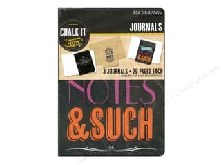 Clearance: K&Company Chalk It Now Mini Journals