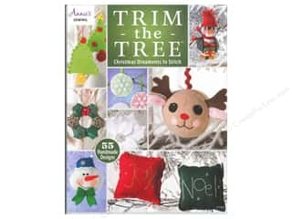 Winter Wonderland Patterns: Annie's Trim The Tree: Christmas Ornaments To Stitch Book