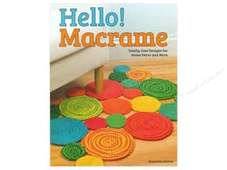 Books Clearance: Design Originals Hello Macrame Book