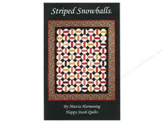 Happy Stash Quilts Striped Snowballs Pattern