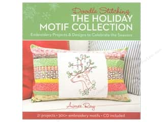 Lark Doodle Stitching The Holiday Motif Collection Book