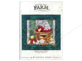 Books & Patterns: Pine Needles And On That Farm She Had Some Chicks Pattern