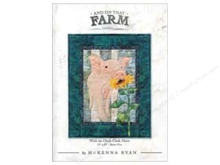 Books & Patterns: Pine Needles And On That Farm With An Oink Oink Here Pattern