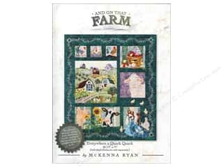 Books & Patterns: Pine Needles And On That Farm Everywhere a Quack Quack Pattern