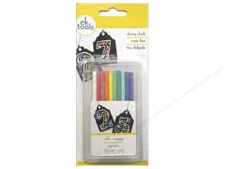 scrapbooking & paper crafts: EK Chalk Refill Skinny Primary 10pc