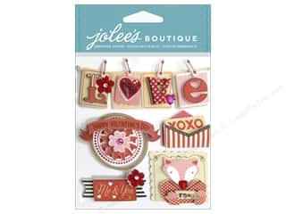 Valentines Day Gifts Paper: Jolee's Boutique Stickers Valentine Words