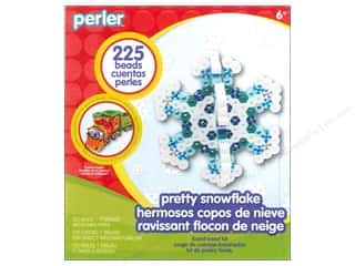 Weekly Specials Beadalon Bead Boards: Perler Fused Bead Kit Trial Pretty Snowflake