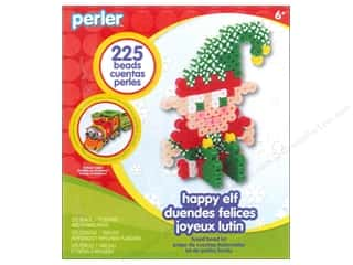 Weekly Specials Beadalon Bead Boards: Perler Fused Bead Kit Trial Happy Elf