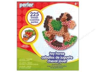Weekly Specials Beadalon Bead Boards: Perler Fused Bead Kit Trial Rocking Horse