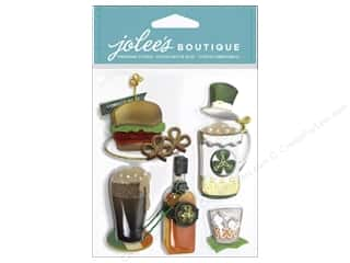 St. Patrick's Day: Jolee's Boutique Stickers St. Paddy's Food and Drink