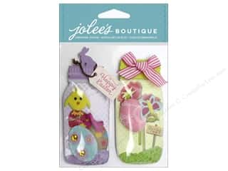 Jolee's Boutique Stickers Easter Egg Jars