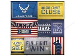 Paper House 12 x 12 in. Paper Air Force Tags (25 sheets)
