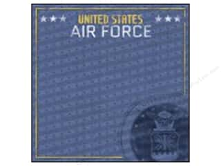 Paper House 12 x 12 in. Paper Air Force Emblem (25 sheets)