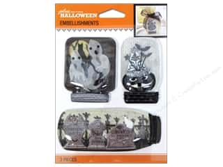 mason jars: Jolee's Boutique Halloween Embellishments Mason Jar Black & White