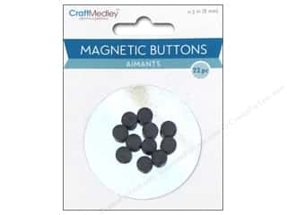 Magnets: Multicraft Magnet Magnetic Buttons 8mm 22pc