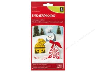 Inkadinkado Clear Stamp Paper Sculpture Ornament
