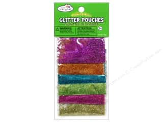 Multicraft Krafty Kids Glitter Pouches 12g Fashion Glitter