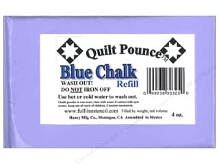 Hancy Mfg Quilt Pounce Refill Chalk Blue 4oz