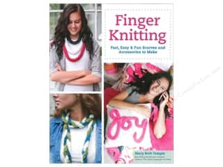 knitting books: Design Originals Finger Knitting Book