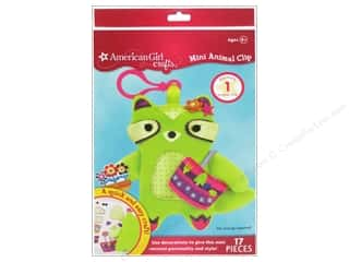 Weekly Specials Halloween Stickers: American Girl Kit Mini Animal Clip Raccoon
