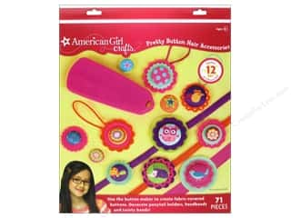 Weekly Specials Jewelry Making: American Girl Kit Pretty Button Hair Accessories