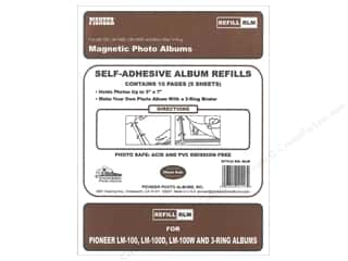 scrapbooking & paper crafts: Pioneer Refill Page Magnetic Album LM-100 5 pc