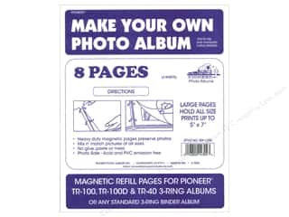 scrapbooking & paper crafts: Pioneer Refill Page Magnetic Album TR-100 4 pc