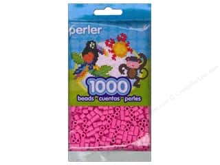 beading & jewelry making supplies: Perler Bead 1000 pc. Pink