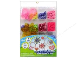 beading & jewelry making supplies: Perler Fused Bead Kit Jewelry Tray 2034pc