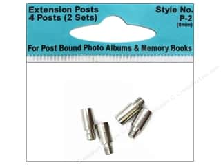 Pioneer Extender Post Standard 8mm 4pc