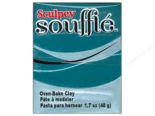 craft & hobbies: Sculpey Souffle Clay 1.7 oz. Sea Glass