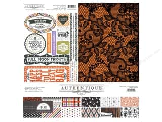 Weekly Specials DieCuts Box of Cards: Authentique 12 x 12 in. Collection Kit Spirited