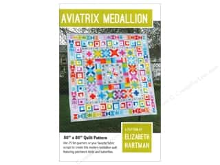 Quilting Patterns: Elizabeth Hartman Aviatrix Medallion Quilt Pattern
