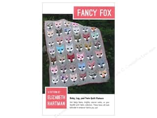 Quilting Patterns: Elizabeth Hartman Fancy Fox Quilt Pattern