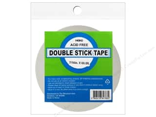 glues, adhesives & tapes: Heiko Double Stick Tape 7/16 in. x 65 1/2 ft.