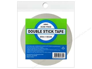 glues, adhesives & tapes: Heiko Double Stick Tape 3/4 in. x 65 1/2 ft.