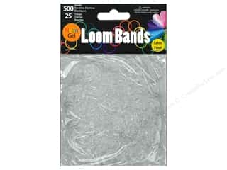Best of 2013 Midwest Design Loom Bands: Midwest Design Loom Band Neon Gel White 525pc