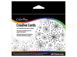 "Cards & Envelopes  4.25"" x 5.5"": ColorBox Creative Cards and Envelopes Flowers Galore"