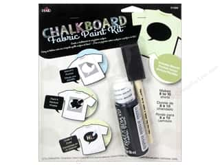 weekly special backing: Plaid Chalkboard Paint Fabric Kit Bubble Stencil