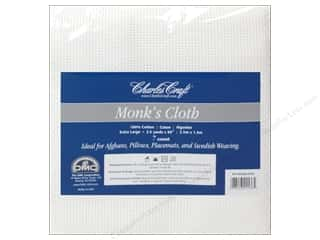 Aida Cloth: Charles Craft Monk's Cloth 7-count 60 in. x 2 1/2 yd. White