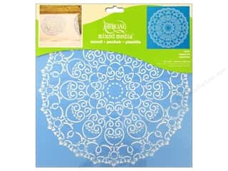 craft & hobbies: DecoArt Americana Mixed Media Stencil 12 x 12 in. Doily