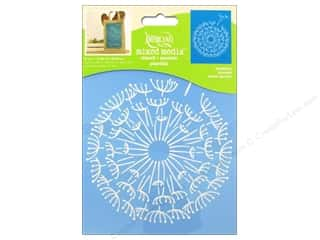 craft & hobbies: DecoArt Americana Mixed Media Stencil 6 x 8 in. Dandelion