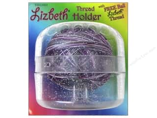 carbon: Handy Hands Notions Lizbeth Tatting Thread Holder Sparkle Clear