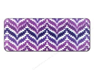 FotoFiles: FotoFiles Nail File with Mirror Purple Zigs