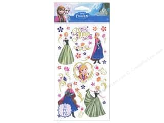 scrapbooking & paper crafts: EK Disney Sticker Frozen Anna & Flowers