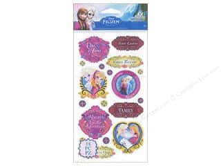 scrapbooking & paper crafts: EK Disney Sticker Frozen Anna & Elsa Sisters